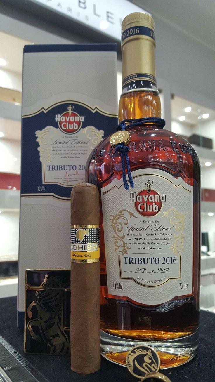 Cigar must & spirit