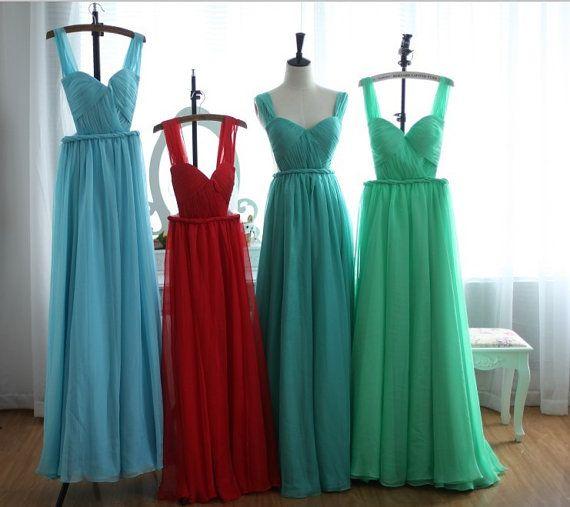 Brud~Bal och Festklänningar www.BALochFEST.SE: Balklänning 2014 med öppen rygg, bälte i midjan - Spets - pasteller-Chiffong