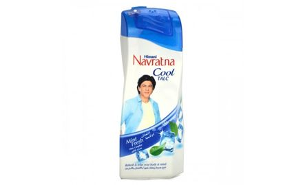 Buy a 400 gm Navratna Mint Fresh Talc and get a 15 ml Fair and Handsome Cream absolutely free