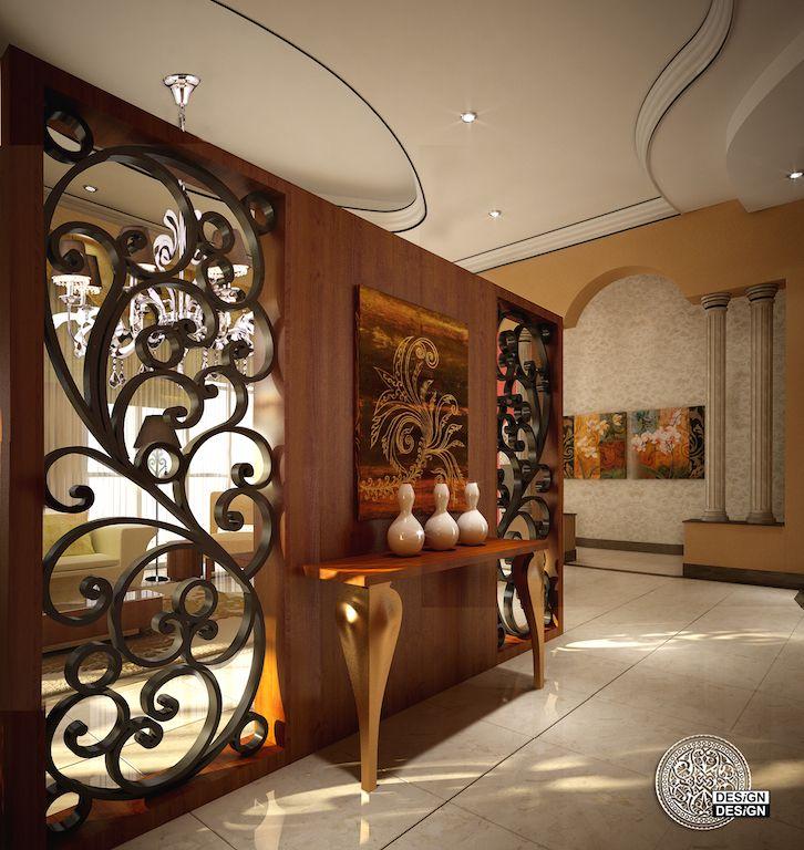 Foyer Decor Abu Dhabi : Design llc private villa abu dhabi khalifa