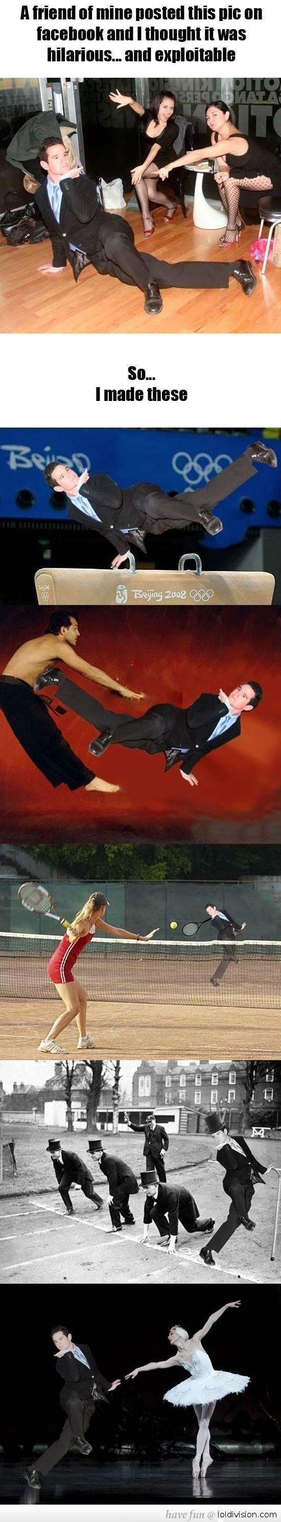Photoshopping Your Friend Into Funny Situations
