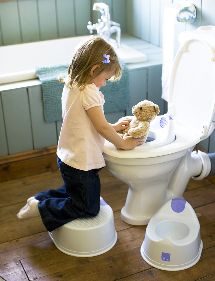 Complete potty training with Demi (no more diapers!)