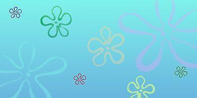 Floral Background - Great for Bikini Bottom / Spongebob Fish Tank or Aquarium