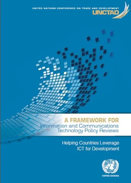 A Framework for Information and Communications Technology Policy Reviews (EBOOK) http://unctad.org/en/PublicationsLibrary/dtlstict2013d6_en.pdf This publication identifies key challenges and solutions in relation to the strategic review of ICT policy plans including leadership, implementation mechanisms, monitoring and review, coordination, institutional framework and the roles of each stakeholder.