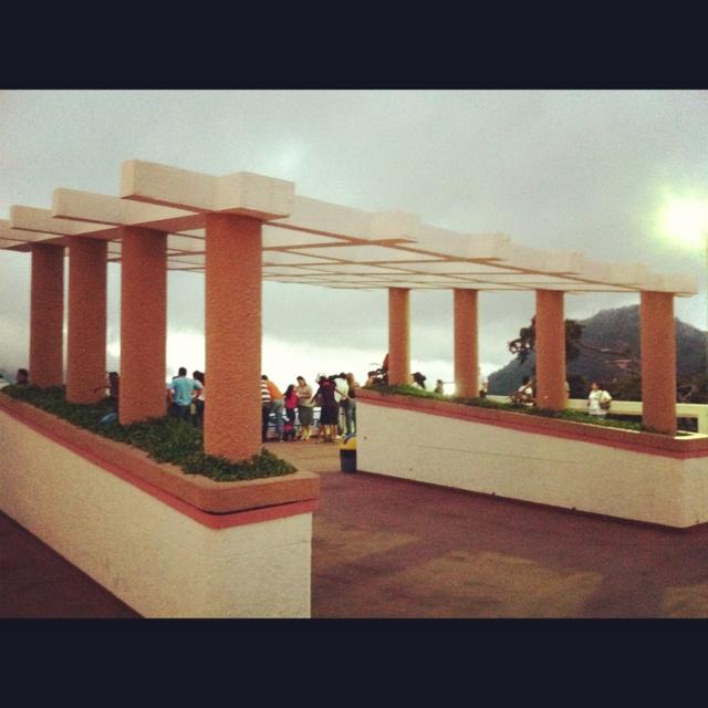 Mirador en los Planes de Renderos, Panchimalco, El Salvador