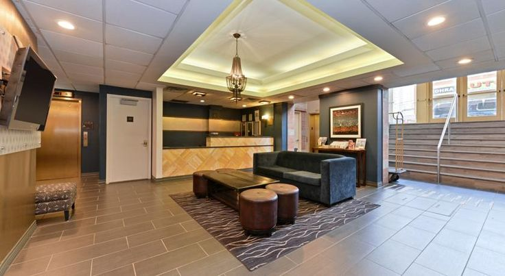 Magnuson Convention Center Hotel NYC New York Located less than 1 block from the Javits Convention Center and the Lincoln Tunnel, Magnuson Convention Center Hotel NYC features a daily continental breakfast. Free Wi-Fi is available throughout the hotel.