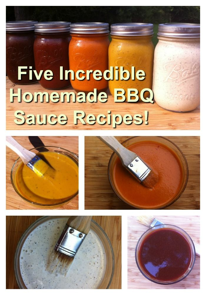 Take your Grill Skills to the next level with these five amazing homemade bbq sauce recipes!