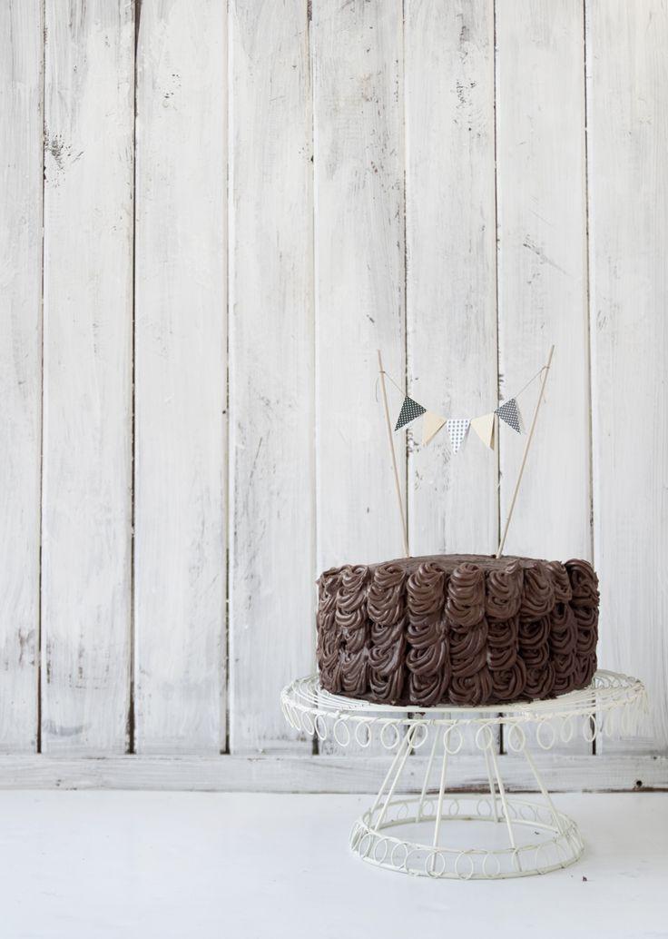 gâteau au chocolat / chocolate cake