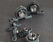 Adapter sleeves are primarily used with a self aligning ball bearing with a tapered bore and spherical roller bearing on to a flat shaft or stepped shafts. They are easy to mount and can be located in any position on the shaft. The sleeves are append with complete nut and locking device and can also be used for pulley fixation. http://www.hrbearings.net/adapter-sleeves.html