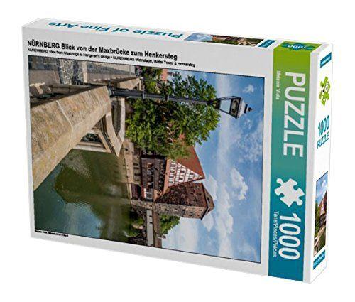 NÜRNBERG Blick von der Maxbrücke zum Henkersteg 1000 Teil... https://www.amazon.de/dp/B01KZN22UC/ref=cm_sw_r_pi_dp_x_3YRqyb1S6Z4BS #Puzzle #1000 #1000Teile #Geschenk #Weihnachten #Spielzeug #Basteln #Spass #Beschäftigung #Nürnberg #Bayern #Stadt #Franken #Sehenswürdigkeit #Henkersteg #Pegnitz #Wasserturm #Brücke #Altstadt #mittelalterlich