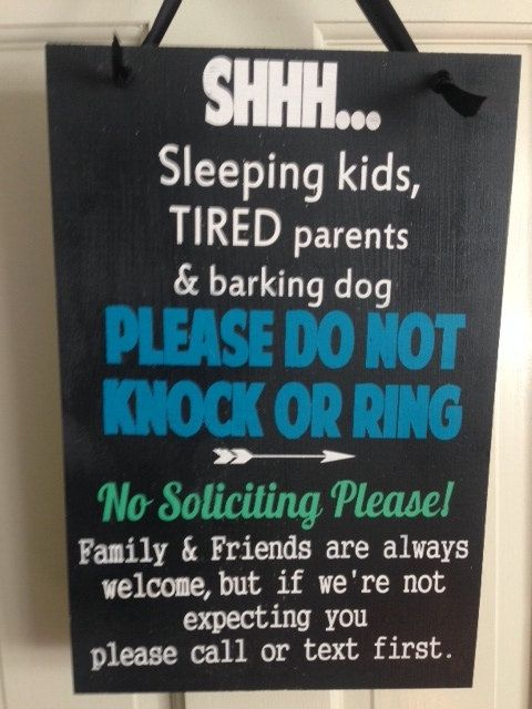 12 Best No Soliciting Images On Pinterest Baby Sleeping Sign No