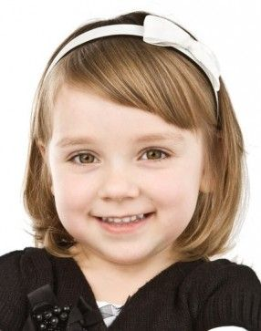 Cute bob haircut for little girls