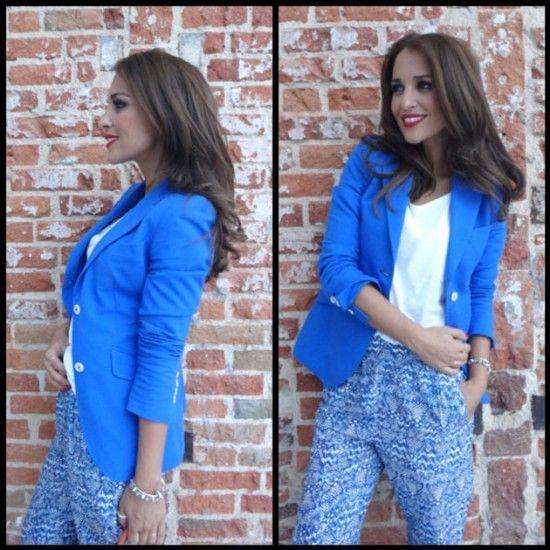 paula chaqueta azul klein