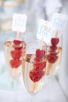 Design Inspiration: Bachelorette Spa Party party ideas add orange spiral zest or berrys 2 drink
