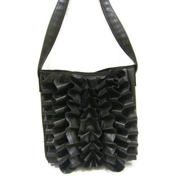 Upcycled & Recycled Tires inner tube purse bag