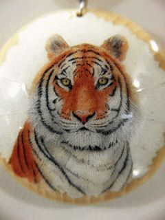 Tiger necklace