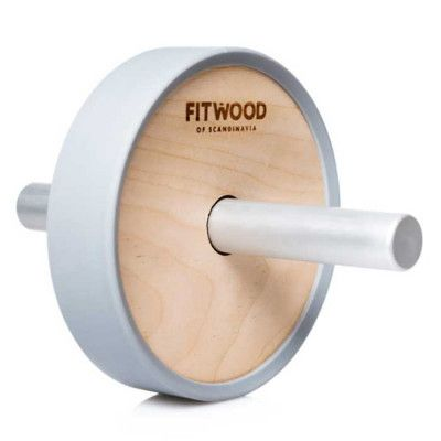 FitWood Kjerag Träningshjul är ett redskap som fungerar utmärkt både på ett gym och hemma hos dig. Med detta träningshjul så kan du effektivt och skonsamt träna upp dina magmuskler.