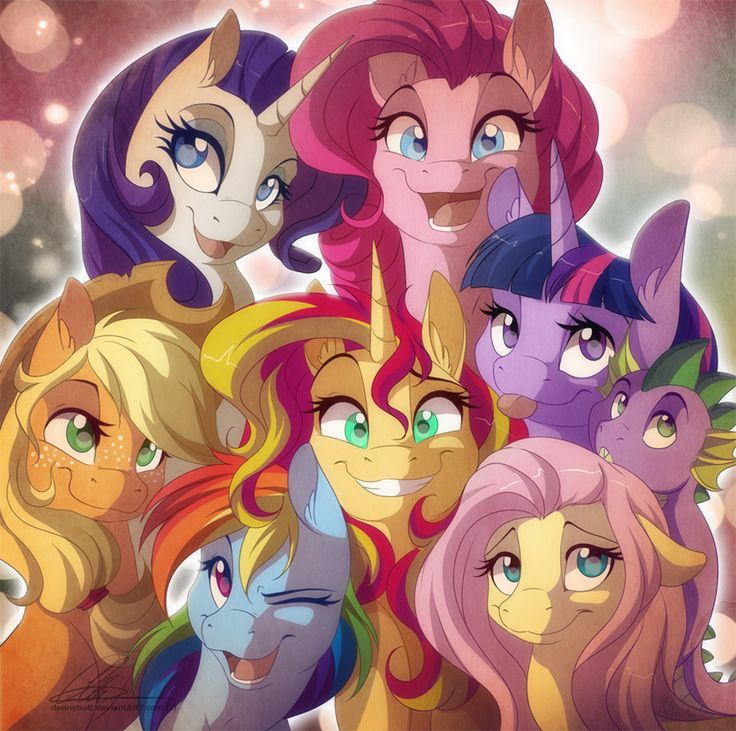 Friendship is Magic! by dennybutt.deviantart.com on @deviantART
