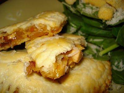 Savory Chicken Pocket Pies