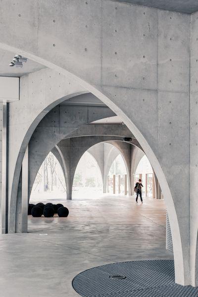 Tama Art University Library Toyo Ito