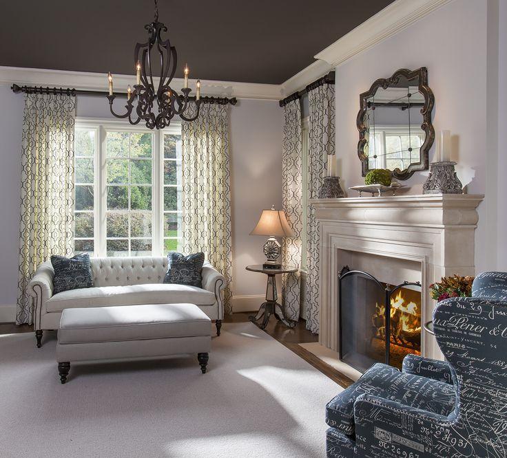 lauren nicole designs living room interior design decor charlotte - Charlotte Nc Interior Designer