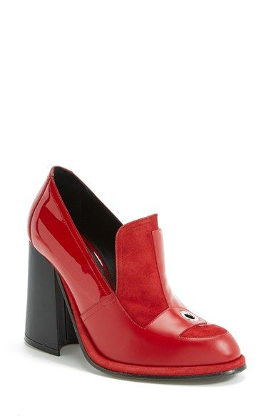 J.W. Anderson   Red Loafer   Lyst