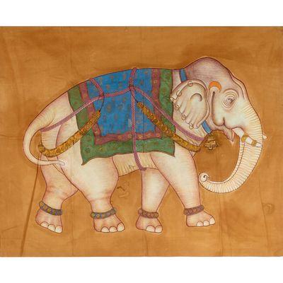 """Résultat de recherche d'images pour """"elephant cornac india painting"""""""
