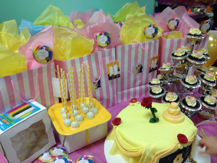 Belle theme birthday