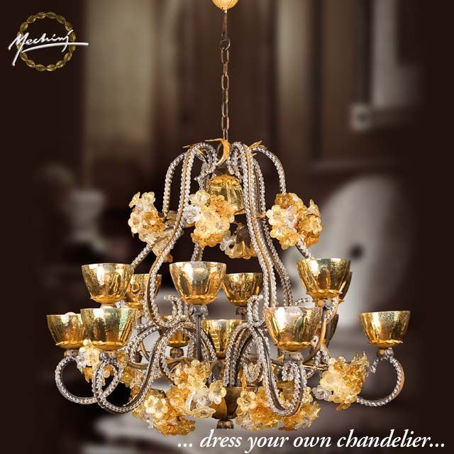 25 best chandeliers italian handmade images on pinterest chandeliers handmade in florence italy since 1970 by mechini mozeypictures Images