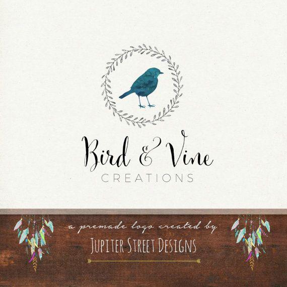 Logo Design-Small Business Logo-Bird Logo-Photography Logo