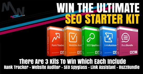 SEO Starter Kit Giveaway http://www.matthewwoodward.co.uk/giveaways/seo-starter-kit/?lucky=2440