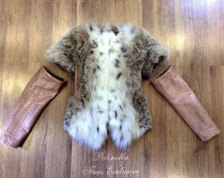 Купить Куртка- жилет из рыси - ателье москва, купить шубу, купить шубку, купить в москве