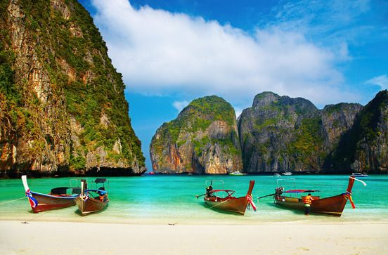 Tropical beach, Maya Bay