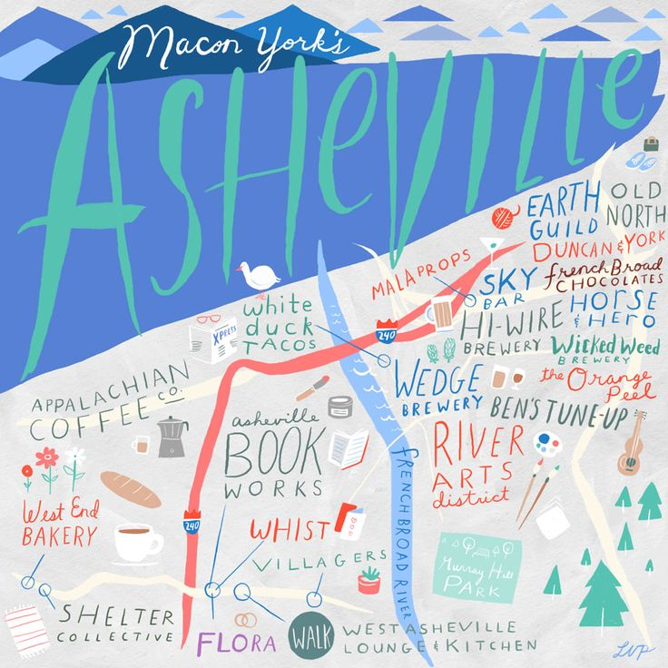 24 Hours in Asheville, NC with Macon York