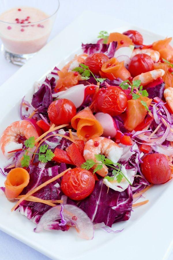 甘くはじける焼きトマトの赤いサラダ by 長岡美津恵akai-salad ...
