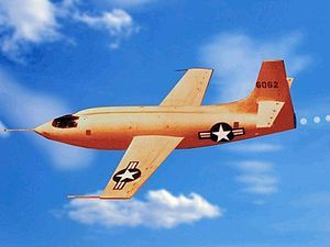 Bell X-1 - Wikipedia, the free encyclopedia. Go Chuck!