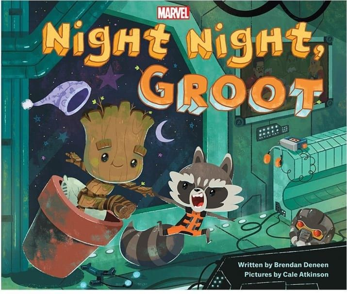 """Or as Groot would say, """"I am Groot I am Groot I am Groot I am Groot.""""Get it from Amazon for $9 (hardcover) or $9.99 (Kindle).Promising review: """"Such a cute book! This is definitely more for me than it is for my little one right now, but I love the illustrations and it's actually a very sweet bedtime book. If you love Baby Groot, definitely get this!!"""" —@Eat_Craft_Mom"""