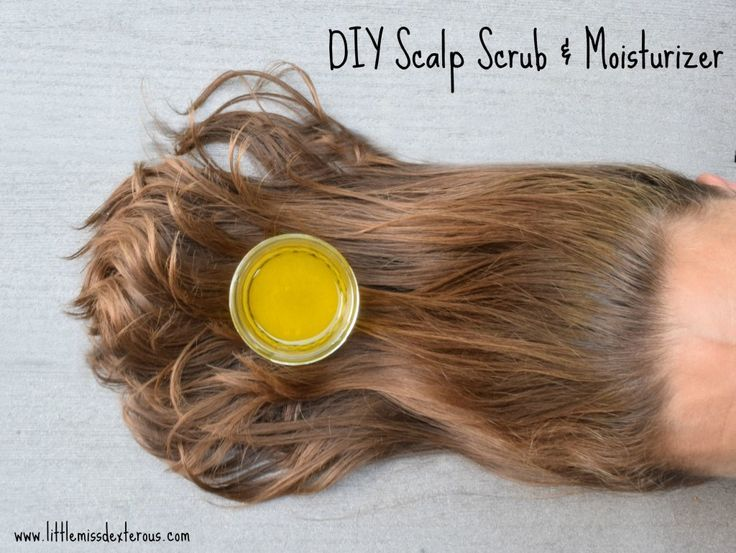 Bring health back to your scalp after being in the summer elements with this DIY Scalp Scrub and Moisturizer.