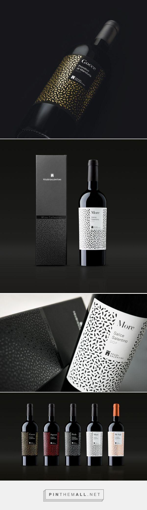 Etichette e packaging vini Feudi Salentini - created via http://pinthemall.net