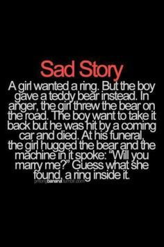 sad love story quotes