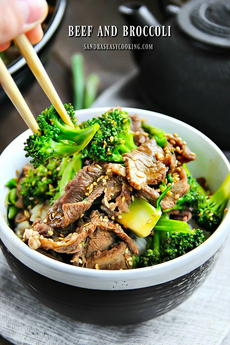 "Easy Beef and Broccoli Recipe with youtube video--  Beef and Broccoli over piping hot rice to get you through these winter days. As much as I love a good takeout over the weekend, I really don't see the reason why people don't make ""takeouts"" at home because they are so simple."