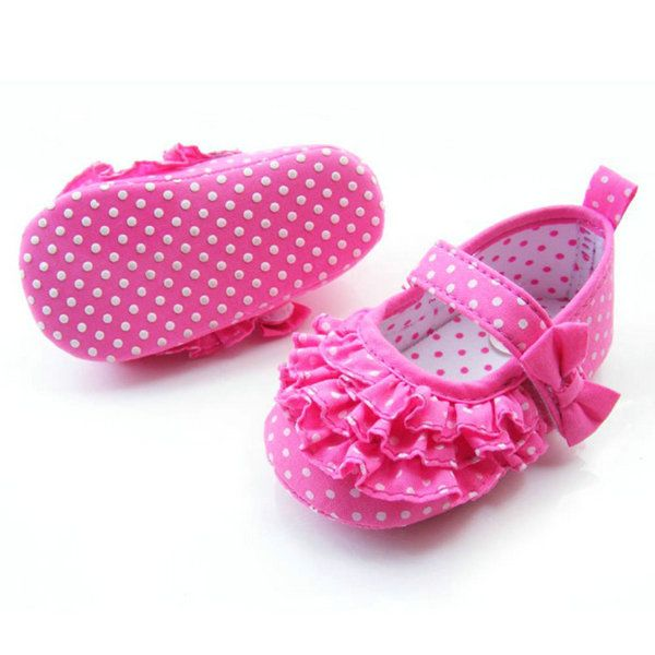 Baby Girl Soft Sole Crib Shoes Toddler Sneaker Infant Baby Shoes Age 0-18…