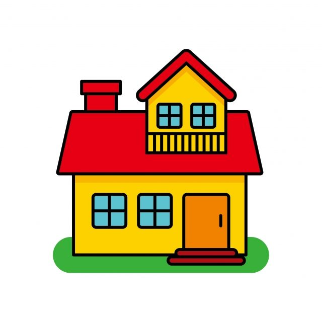 House Vector Illustration Isolated On White Background House Cartoon House Clip Art House Clipart Clip Art Home Png And Vector With Transparent Background Fo Cartoon House House Cartoon House Clipart
