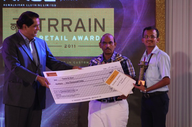 The national award was given away by Mr K. V Kamath