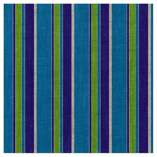 Purple Lime Green Azure Blue Stripes Pattern