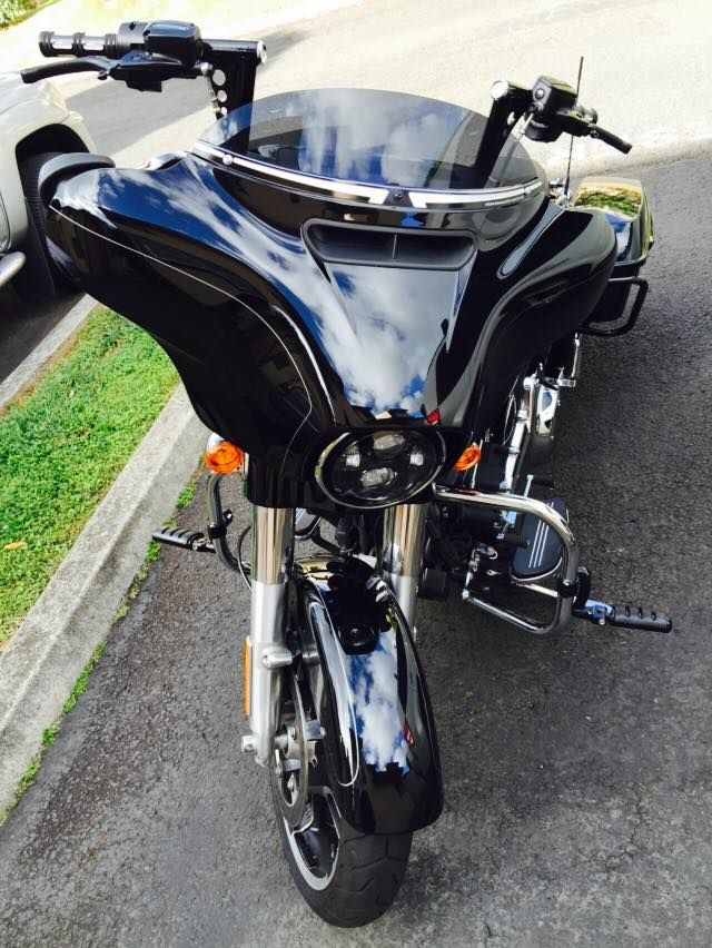 2015 Harley Street Glide With Apes