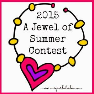 happy girly crafty: A Jewel of Summer Contest- bring your summer inspired jewelry tutorial and win!