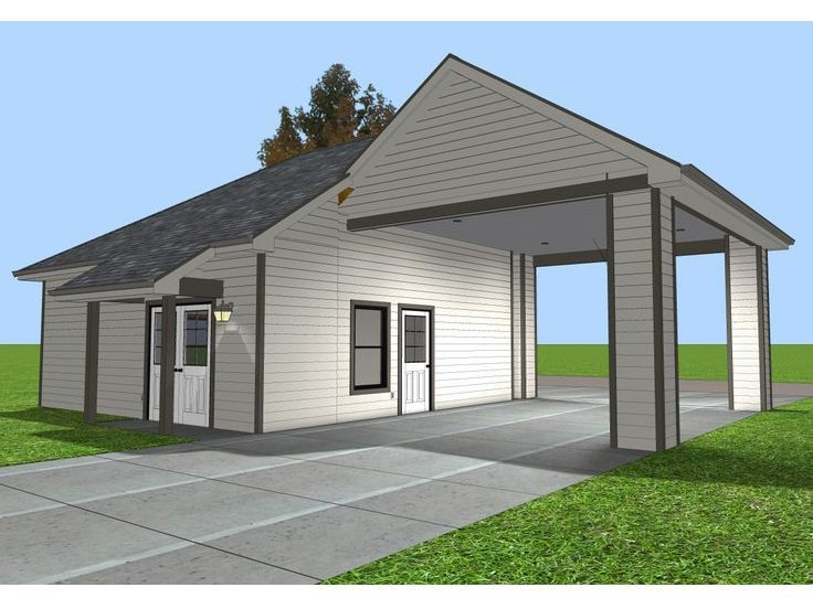 9 best garage ideas images on pinterest pole barn garage for Menards apartment garage plans