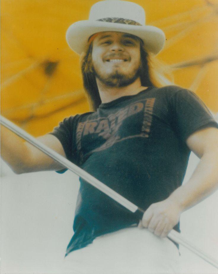 Ronnie Van Zant. Lynyrd Skynyrd aka Skinner family.Ronnie was a family member of mine. :) RIP