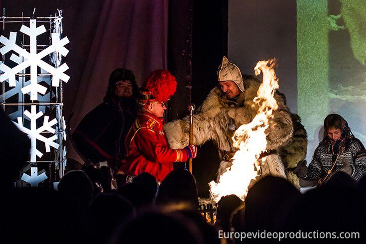 Jokkmokk winter market in Swedish Lapland inauguration 2014